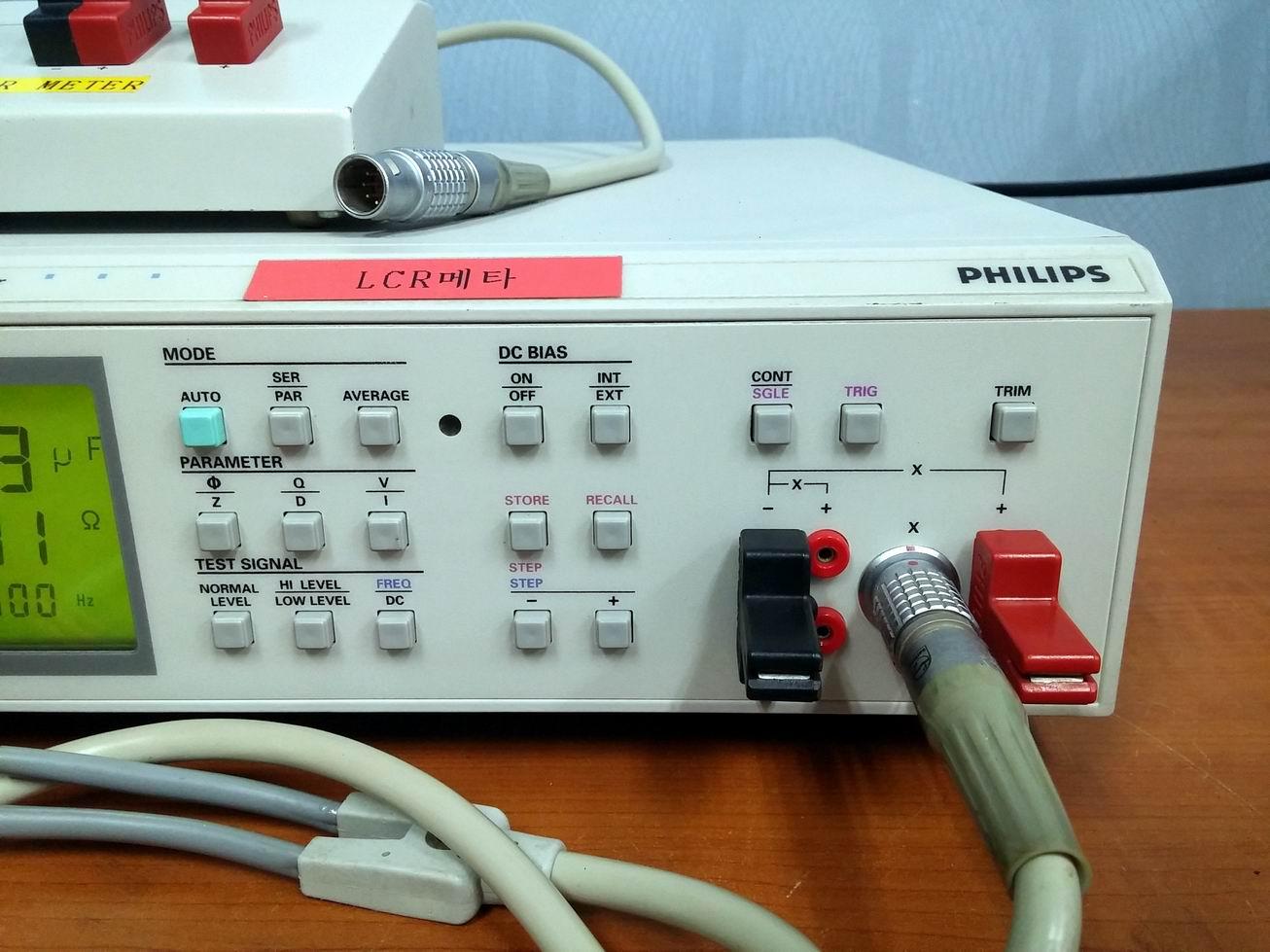 Fluke Lcr Meter : 계측기 장터 판매완료 fluke philips pm lcr meter