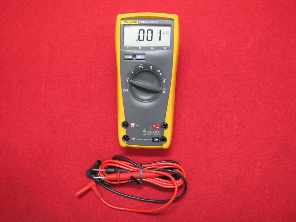 계측기-장터 - FLUKE 23III MULTIMETER